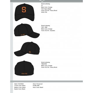Siegen Pirates Custom Cap