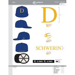Schwerin Diamonds Pro-Flex 1225C Custom Cap