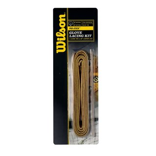 Wilson Glove Lacing Kit TAN Natur