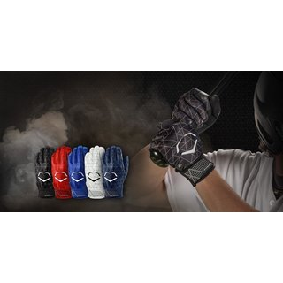 EVOCHARGE SCHUTZ- BATTING GLOVES Black