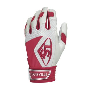 Louisville Slugger SERIES 7 BATTING GLOVES Scarlet Rot