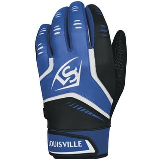 Louisville Slugger Omaha BATTING GLOVES Royal