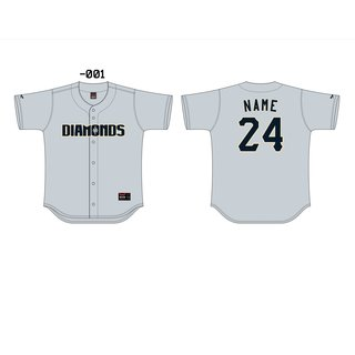 Schwerin Diamonds Baseball Jersey